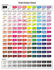 Triart Color Chart